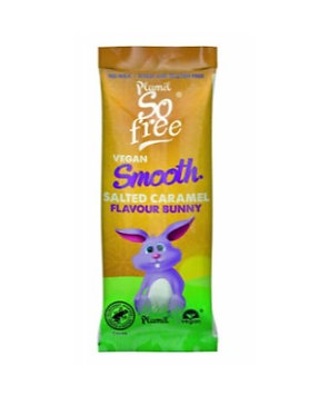 Plamil So Free Salted Caramel Chocolate Bunny 25g