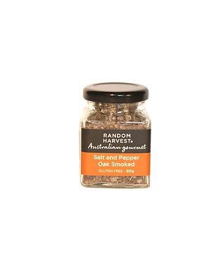 Random Harvest Oak Smoked Salt and Pepper - 60g