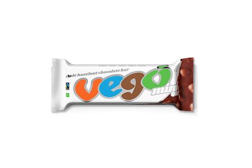 Vego Mini - Whole Hazelnut Chocolate Bar - 65g
