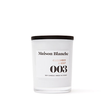 003 Cucumber & Mint / Small Candle 60g