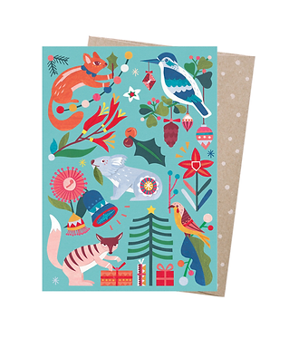 Earth Greetings Christmas Card - Nature's Gifts