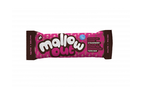 Freedom Mallows Mallow Out Choc Strawberry Bar (35g)