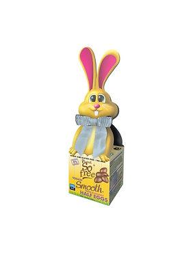 Plamil So Free Smooth Cocoa and Coconut Mini Eggs in Bunny Bow Tie Box 55g