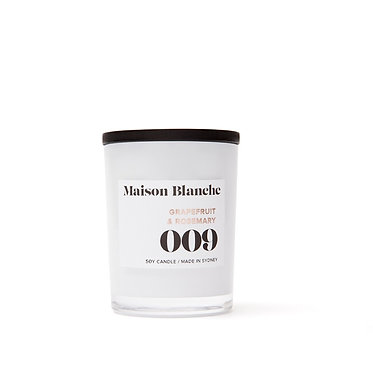 009 Grapefruit & Rosemary / Small Candle 60g