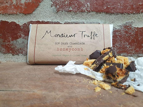 Monsieur Truffe Dark 80% Honeycomb 100g