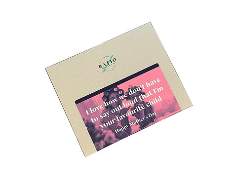 Ratio Cocoa Roasters I'm Your Favorite Child 140g