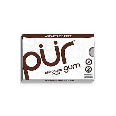 PUR Chocolate Mint Gum - 12.6g