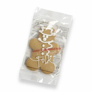 Gingerbread Folk Gingerbread Snowman 30g