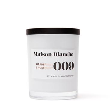 009 Grapefruit & Rosemary / Medium Candle 200g