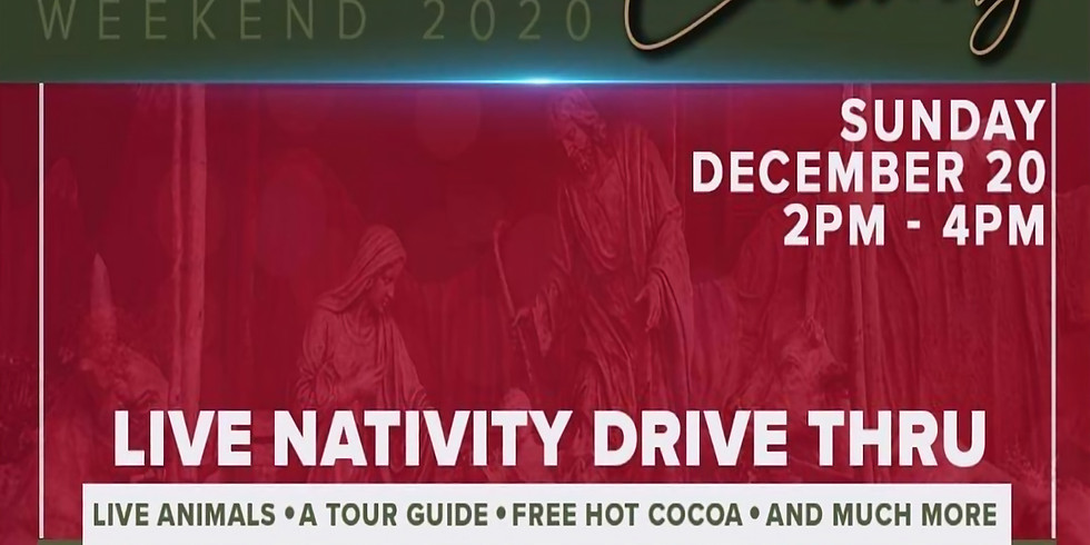 FREE Live Bethlehem Drive Thru