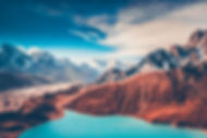 Himalayas. View from Gokyo Ri, 5360 mete