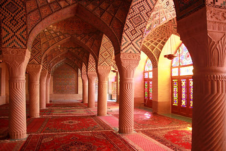 Light entering Nasir-ol-Molk Mosque,Shir