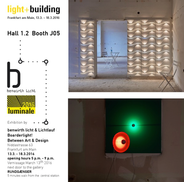 light+building 2016: 13. bis 18.3.2016
