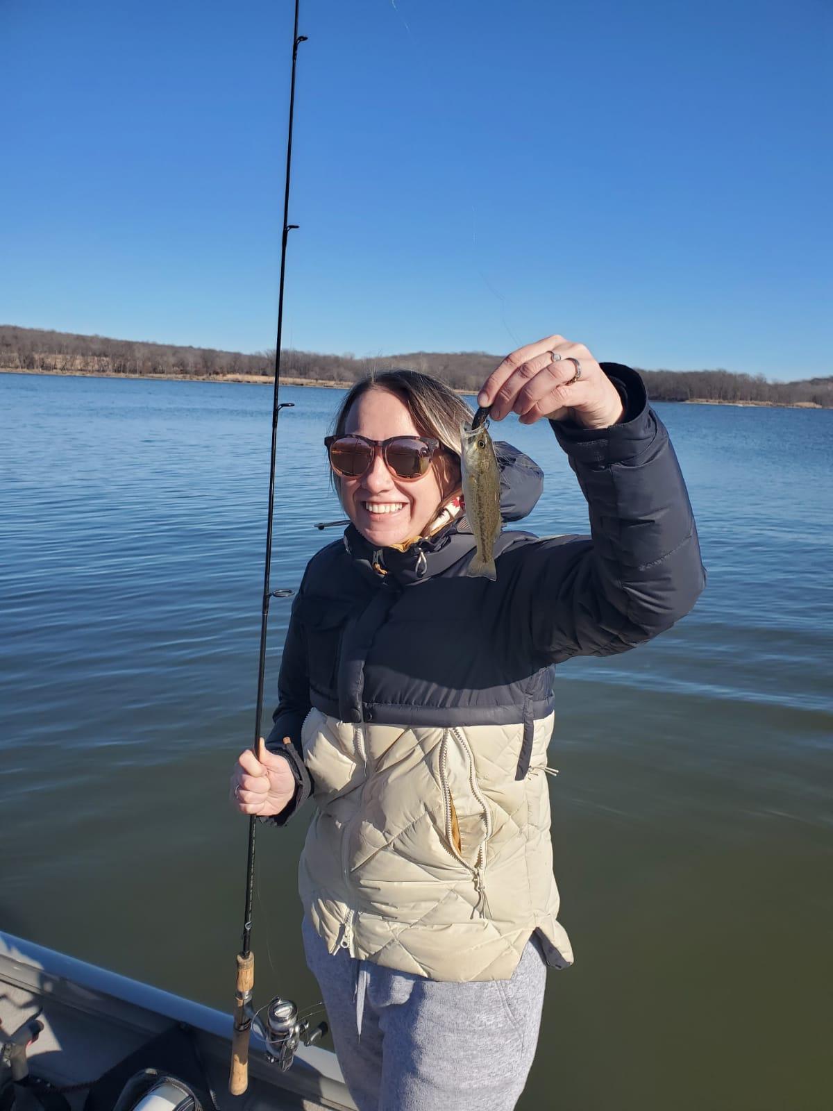 Amy Fishing