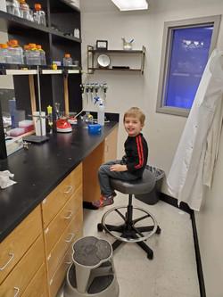 Pierce in Lab