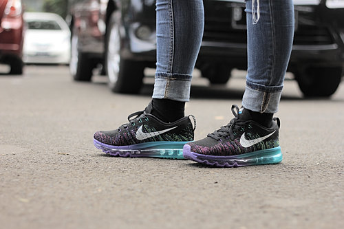 new style d42c0 f77fe Nike Air Max Flyknit Purple Venom