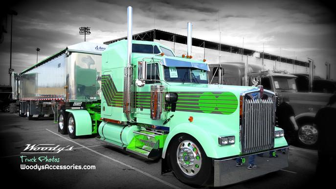 Retro Mint Show Truck