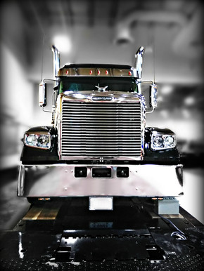 Black Freightliner