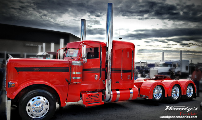 Red Show truck