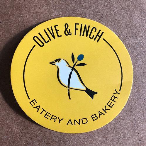 Yellow Round Stickers (Bag)