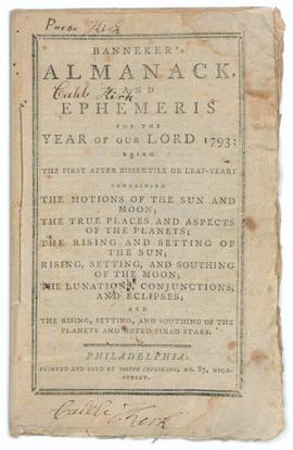 Almanack and Ephemeris (1 of 3)