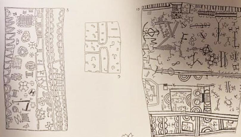 Sketch of Barkcloth Patterns & Designs