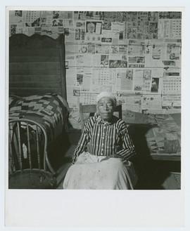 Mulatto ex-slave in her house near Greensboro, Alabama, May 1941.