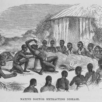 Native Doctor extracting Disease