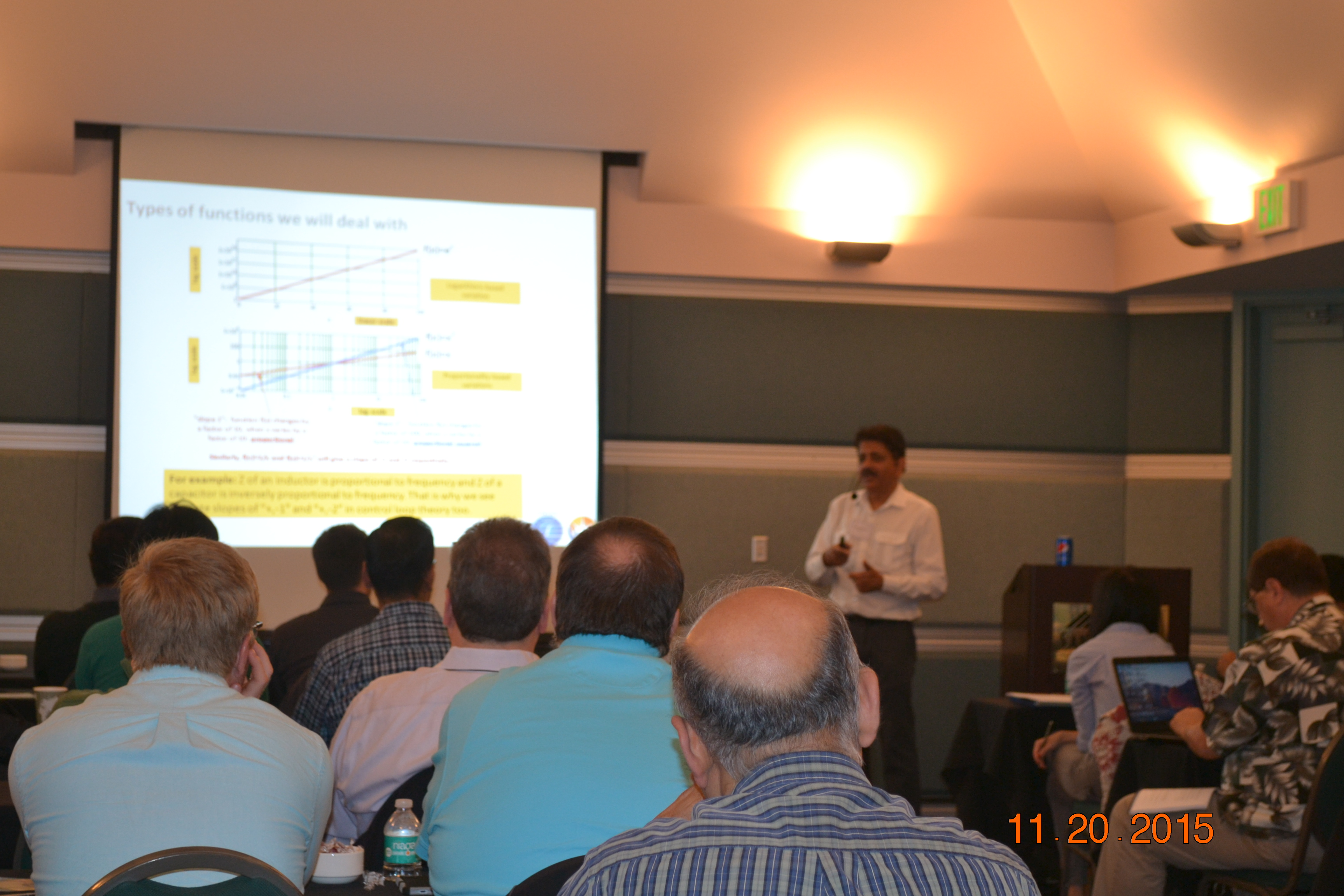 Workshop on Control Loop Theory 2015