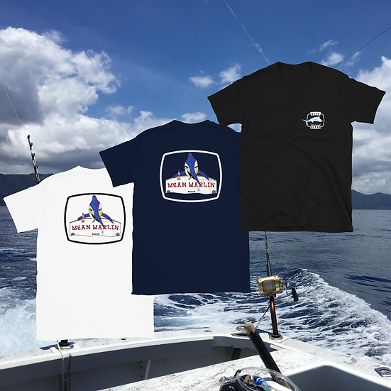 Mean Marlin T-Shirt (Black + Navy)