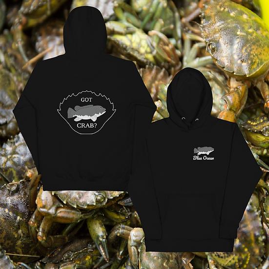 Green Crab Hoodie