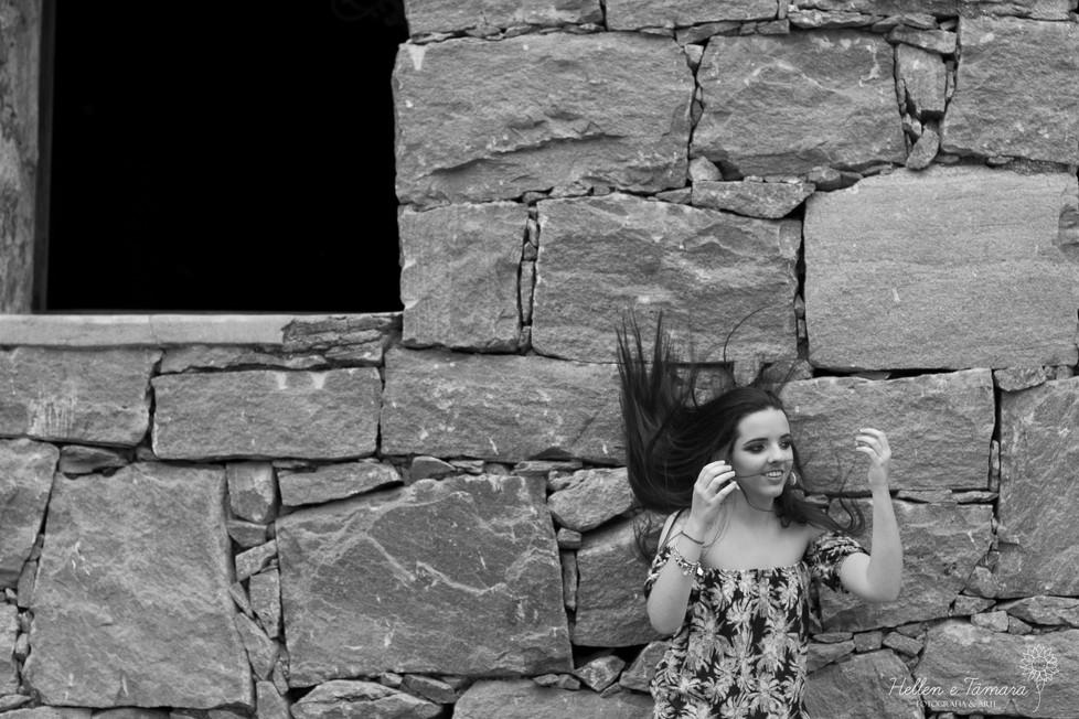 Giulia em seu ensaio de 15 anos | Hotel Capituva