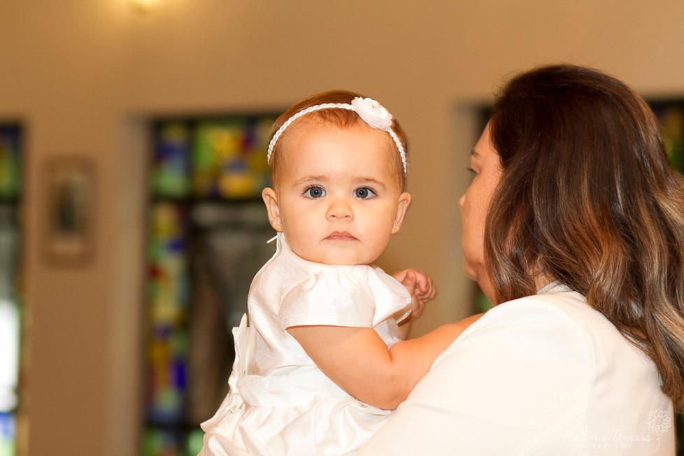 Batizado da Gabriela