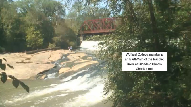 EarthCam at Glendale Shoals 2020-10-01