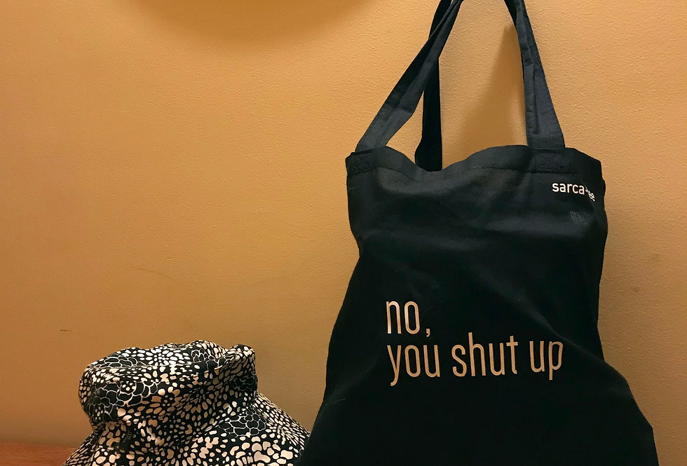 Black Canvas Bags