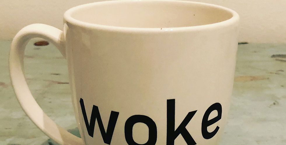 WOKE Coffee Cup
