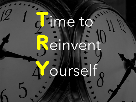 Es hora de reinventarse...