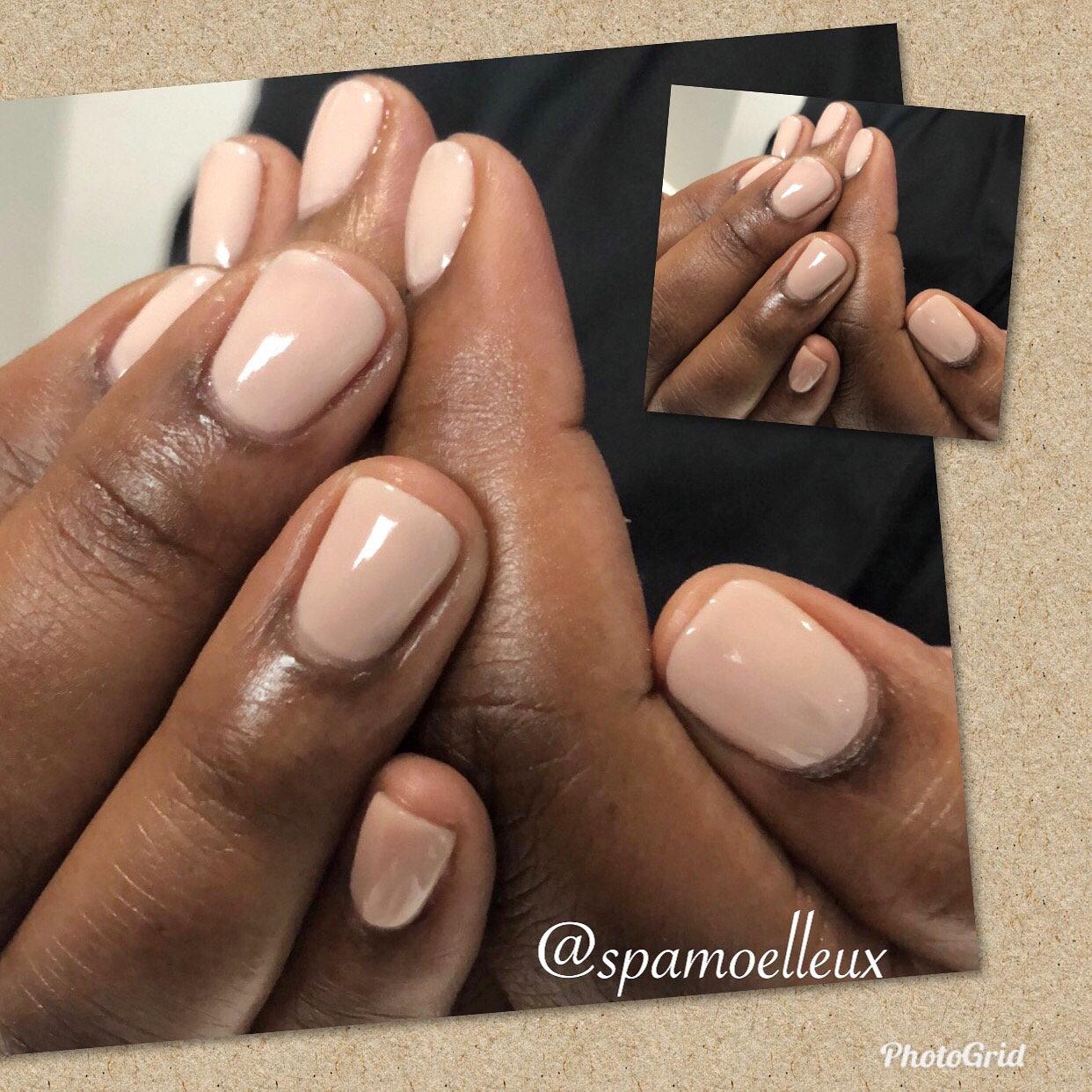 Gel manicure & Paraffin