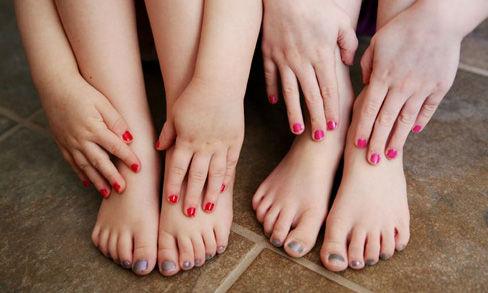 Tween Manicure / Pedicure Combo