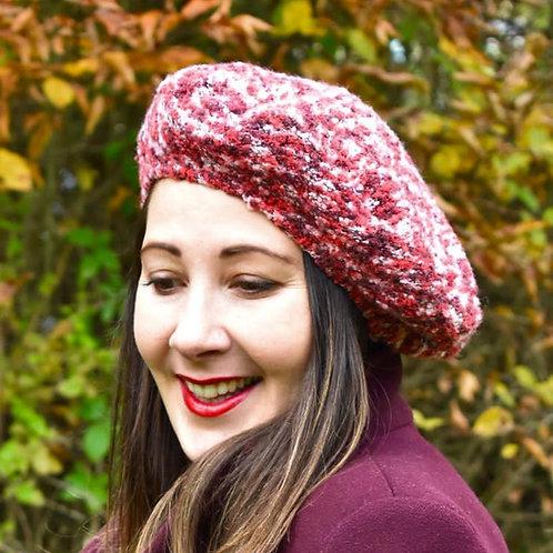 The reversible beret 2 in 1 - PDF pattern + tutorial -