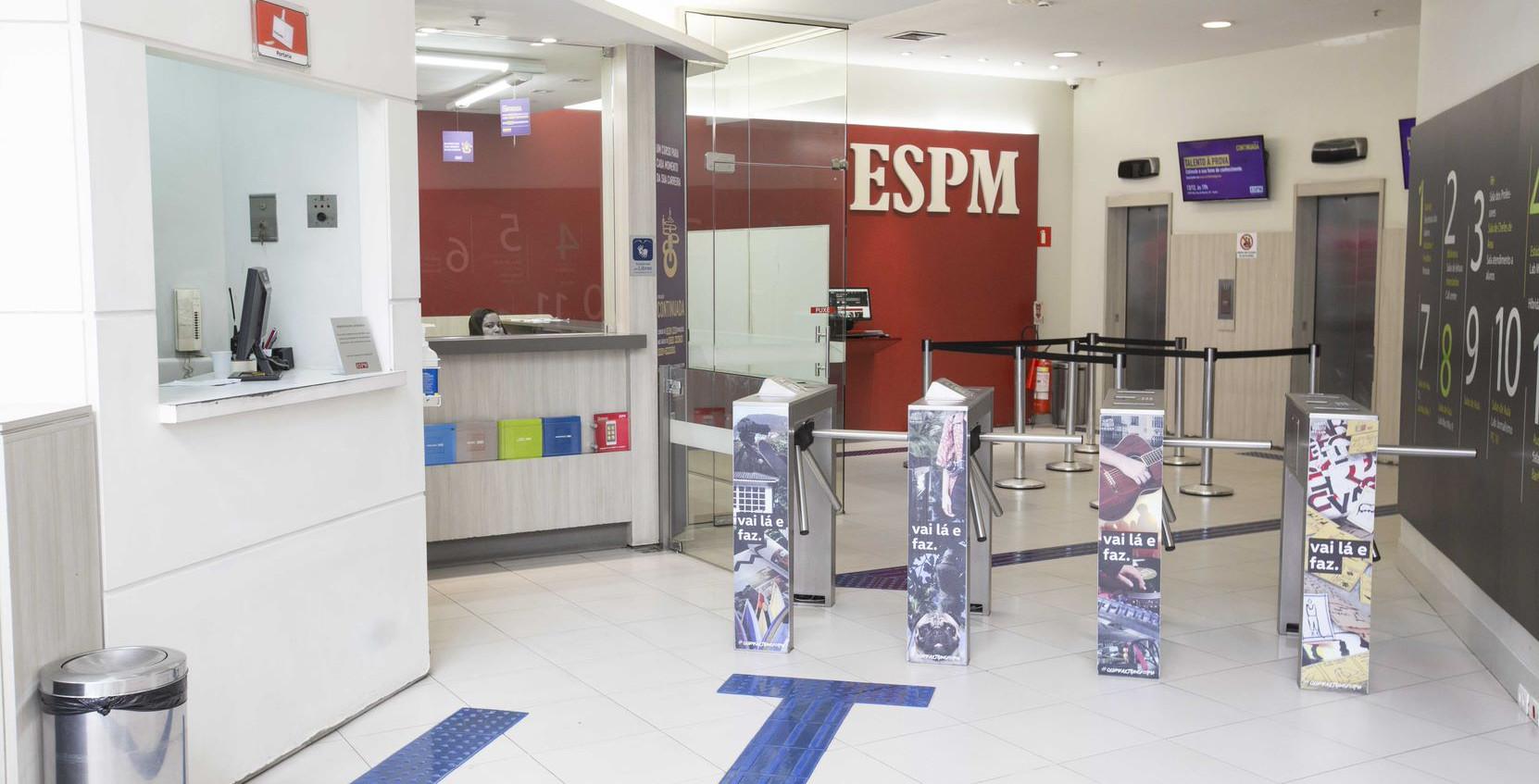 ESPM Rio - Hall de Entrada