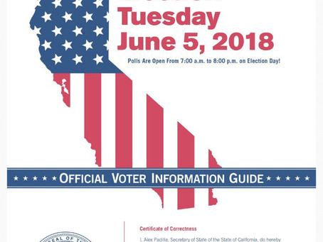 Californians!! Don't forget to vote today! #electionday2018 #vote #california