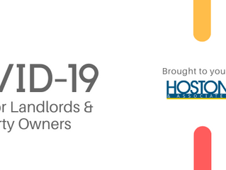 COVID-19 UPDATE for Landlords: Financial assistance + Legal