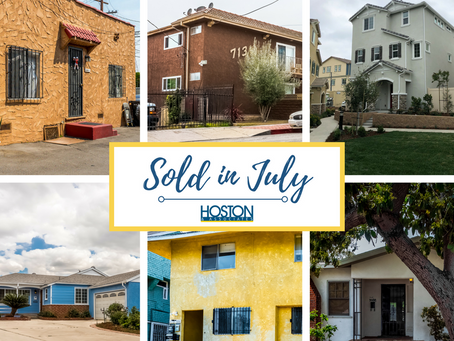 Recently Sold in July!