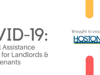 COVID-19 UPDATE: Rental Assistance Resources for Landlords & Tenants