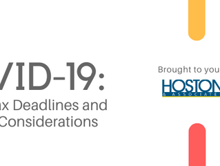 COVID-19 UPDATE: Property Tax Deadlines and Planning Considerations