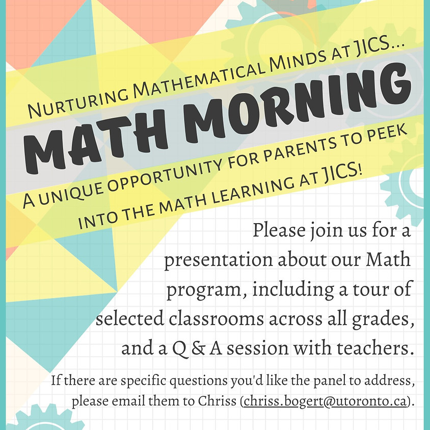 Math Morning 2020