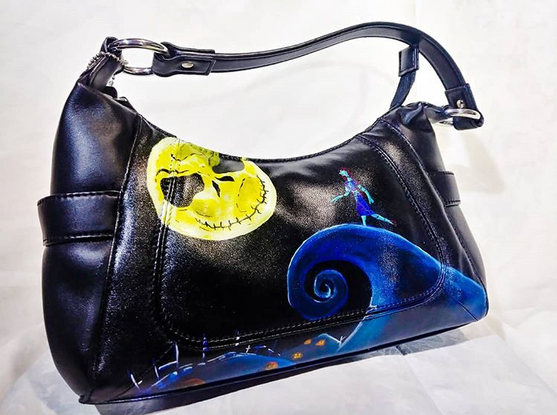 Commissioned Purse - Nightmare Before Christmas