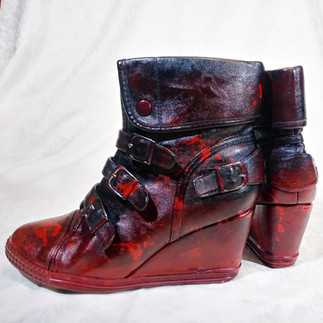 Comissioned- Seeing Red Boots