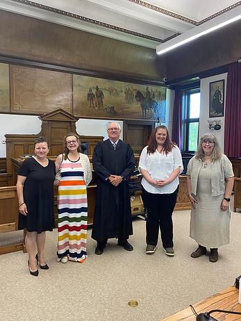 Sware in Rosebud County June 2021 with H